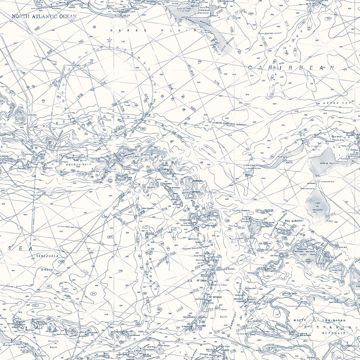 Picture of Charts Navy Map Wallpaper