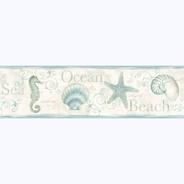 Picture of Island Bay Sea Green Starfish Border