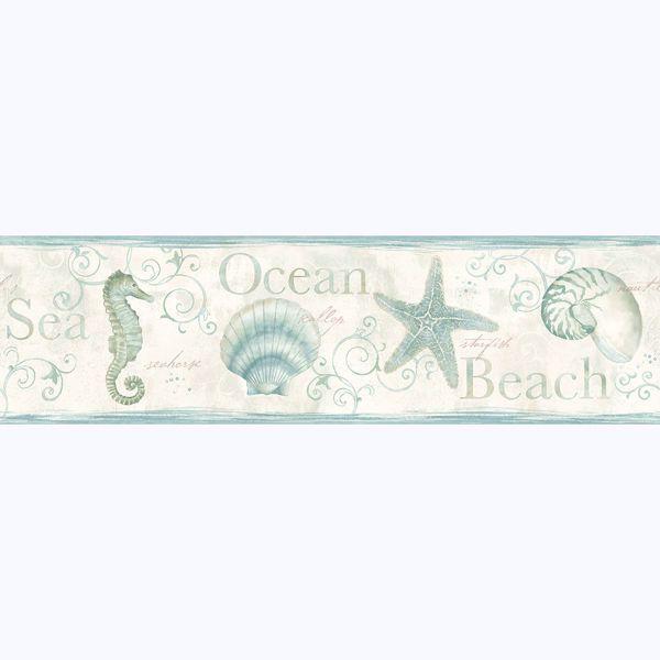 Picture of Island Bay Sea Green Starfish Border