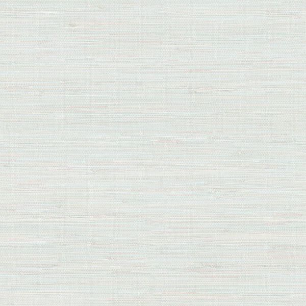 Picture of Waverly Aqua Faux Grasscloth Wallpaper