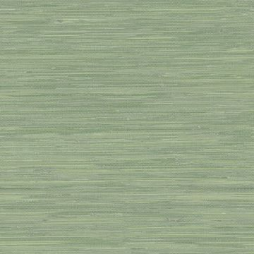Picture of Waverly Green Faux Grasscloth Wallpaper