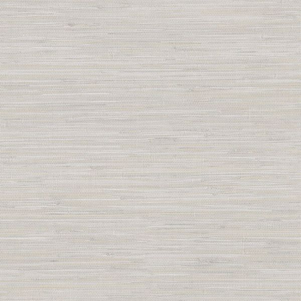 Picture of Waverly Light Grey Faux Grasscloth Wallpaper