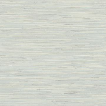 Picture of Waverly Teal Faux Grasscloth Wallpaper