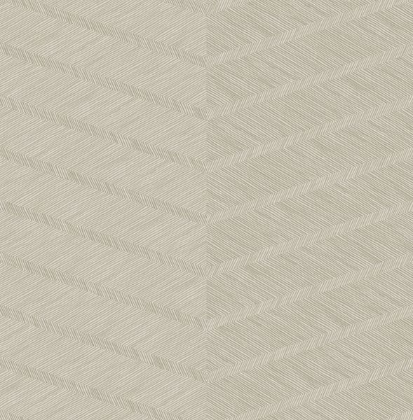 Picture of Aspen Champagne Chevron Wallpaper- Scott Living