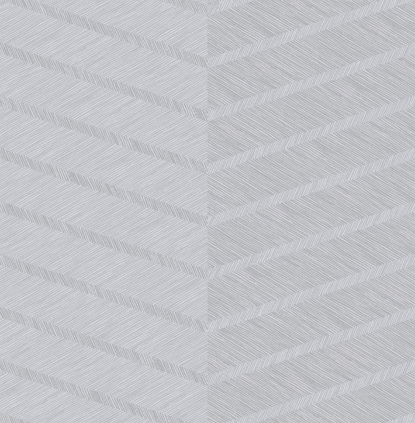 Picture of Aspen Grey Chevron Wallpaper- Scott Living