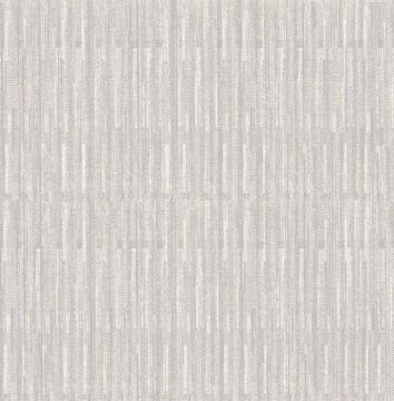Picture of Brixton Light Grey Texture Wallpaper- Scott Living