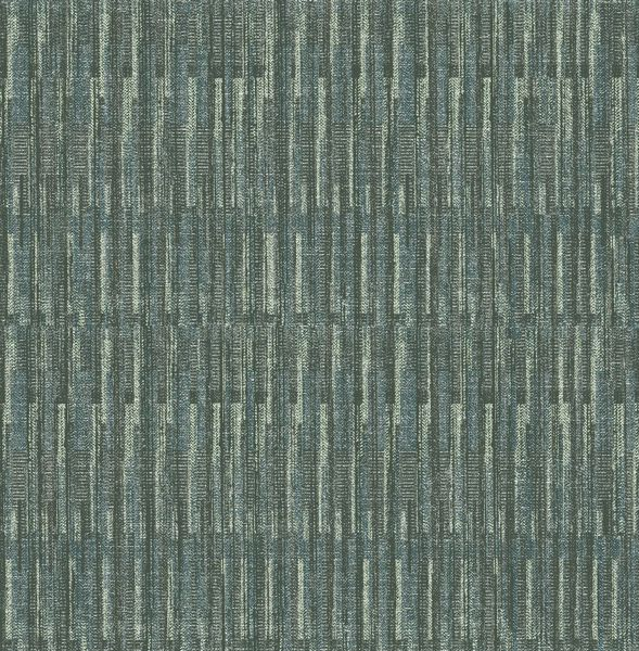 Picture of Brixton Green Texture Wallpaper- Scott Living