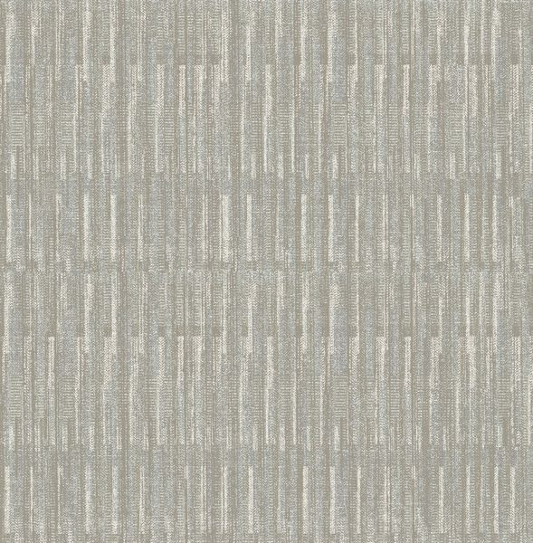 Picture of Brixton Grey Texture Wallpaper- Scott Living