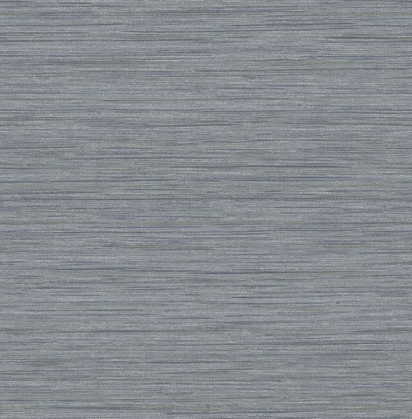 Picture of Barnaby Slate Faux Grasscloth Wallpaper- Scott Living