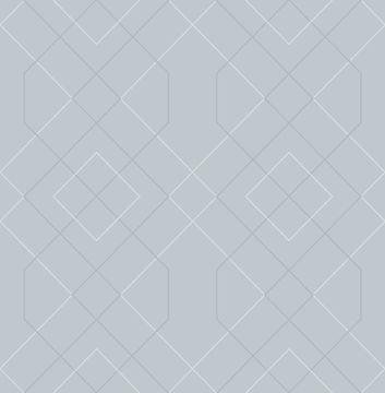Picture of Ballard Light Blue Geometric Wallpaper- Scott Living