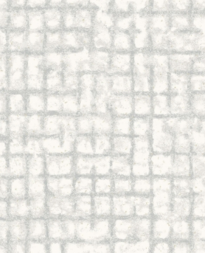 Picture of Shea Light Grey Distressed Geometric Wallpaper- Scott Living