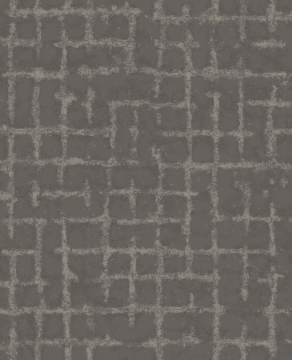 Picture of Shea Charcoal Distressed Geometric Wallpaper- Scott Living