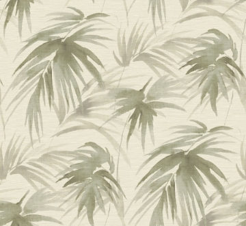 Picture of Darlana Sage Grasscloth Wallpaper- Scott Living