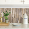 Picture of Weathered Plank Barn Peel & Stick Wallpa Peel and Stick Wallpaper
