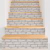 Picture of Cambridge Brick Grey Peel & Stick Wallpa Peel and Stick Wallpaper
