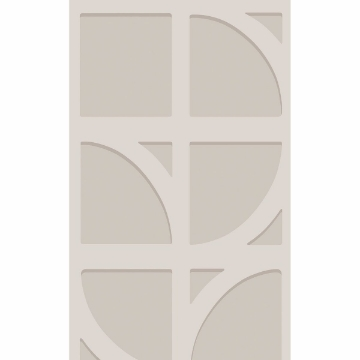 Picture of Shapes Silver Curved Trellis Wallpaper