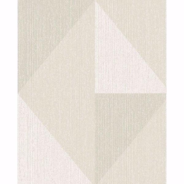 Picture of Diamond Grey Tri-Tone Geometric Wallpaper