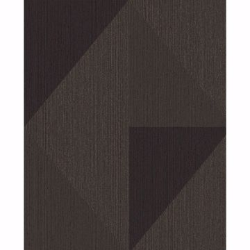 Picture of Diamond Bronze Tri-Tone Geometric Wallpaper