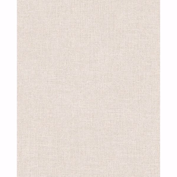 Picture of Tweed Cream Faux Fabric Wallpaper