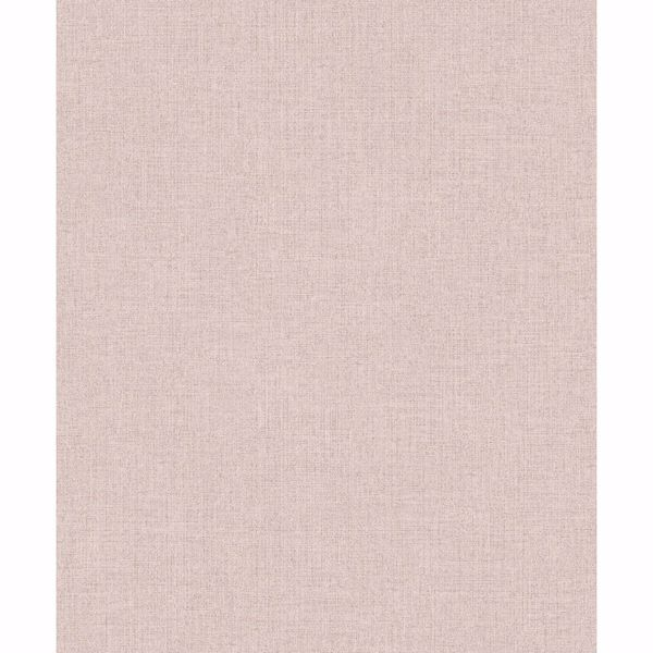 Picture of Tweed Pink Faux Fabric Wallpaper