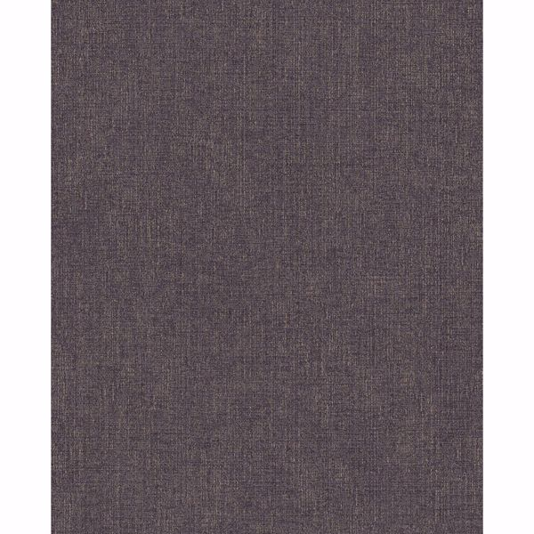 Picture of Tweed Black Faux Fabric Wallpaper