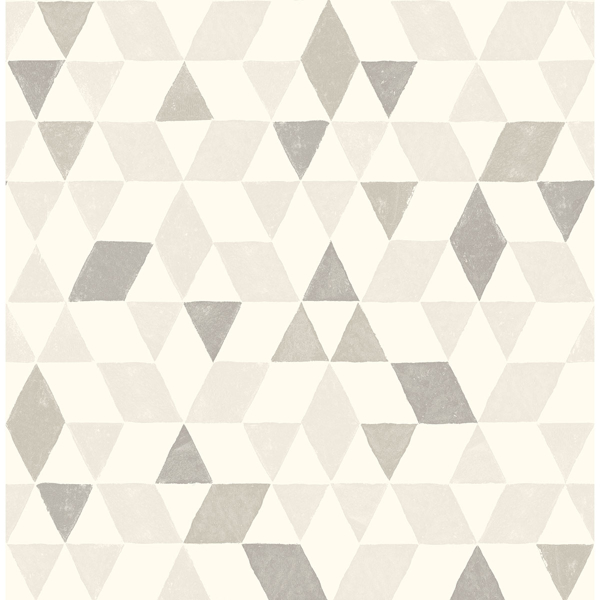 Picture of Harold Grey Geometric Wallpaper
