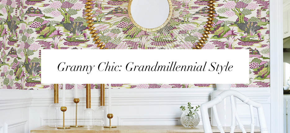 Grandmillennials Embrace Maximalism and Traditional Décor
