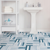 Picture of Azure Peel and Stick Floor Tiles