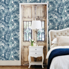 Picture of Alfresco Blue Tropical Palm Wallpaper