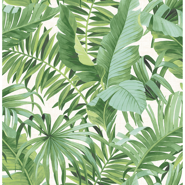 Picture of Alfresco Green Tropical Palm Wallpaper
