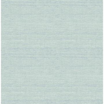 Picture of Agave Aqua Imitation Grasscloth Wallpaper