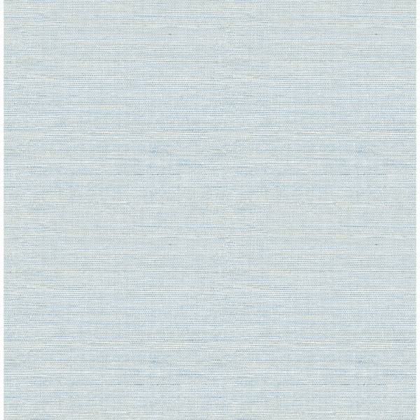 Picture of Agave Blue Imitation Grasscloth Wallpaper