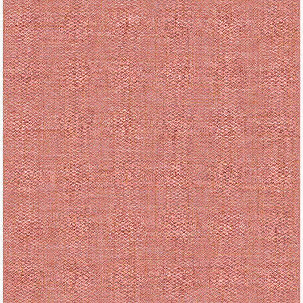 Picture of Jocelyn Red Faux Fabric Wallpaper