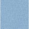 Picture of Jocelyn Blue Faux Fabric Wallpaper