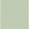 Picture of Jocelyn Green Faux Fabric Wallpaper