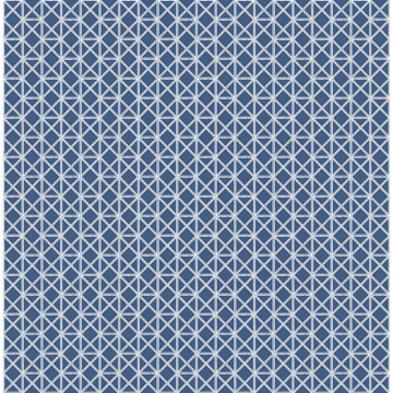 Picture of Lisbeth Navy Geometric Lattice Wallpaper