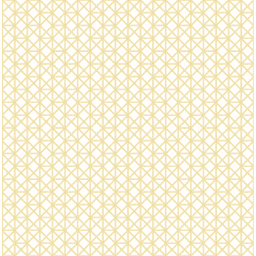Picture of Lisbeth Yellow Geometric Lattice Wallpaper
