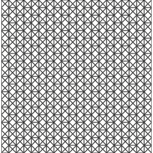 Picture of Lisbeth Black Geometric Lattice Wallpaper