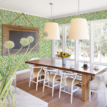 Picture of Loretto Lime Citrus Wallpaper