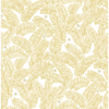 Picture of Athina Yellow Fern Wallpaper