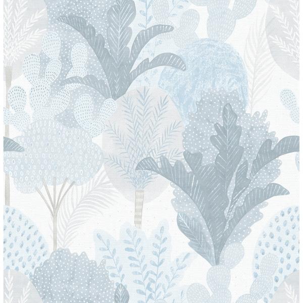 Picture of Ari Blue Desert Oasis Wallpaper
