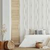 Picture of Orleans Grey Shibori Faux Linen Wallpaper