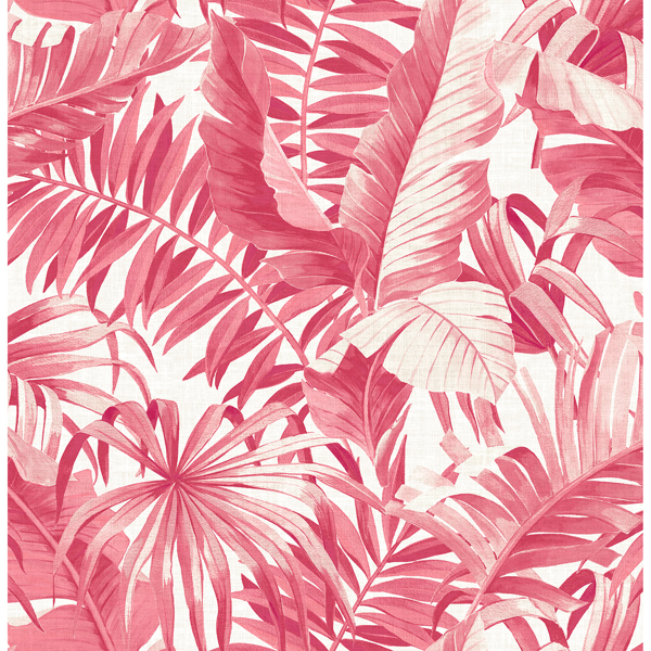 2969 26054 Alfresco Pink Tropical Palm Wallpaper By A