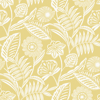 Picture of Alma Yellow Tropical Floral Wallpaper