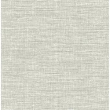 Exhale Grey Woven Texture Wallpaper