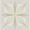 Picture of White & Gold Inuition Peel and Stick Wallpaper