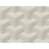 Picture of Y Knot Light Grey Geometric Texture Wallpaper