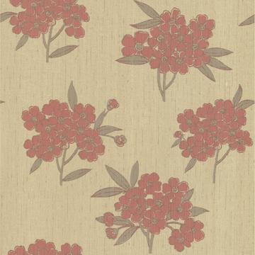 Picture of Sundara Salmon Blossoms Wallpaper