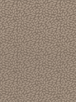Picture of Deschia Light Brown Abstract Leaves Wallpaper