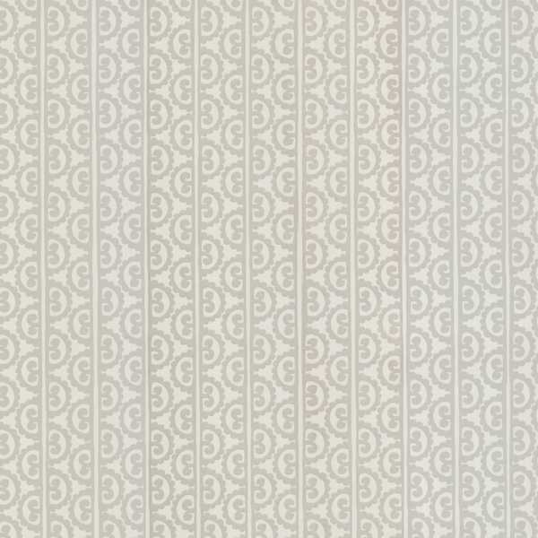 Picture of Wayland Ivory Wrought Iron Stripes Wallpaper